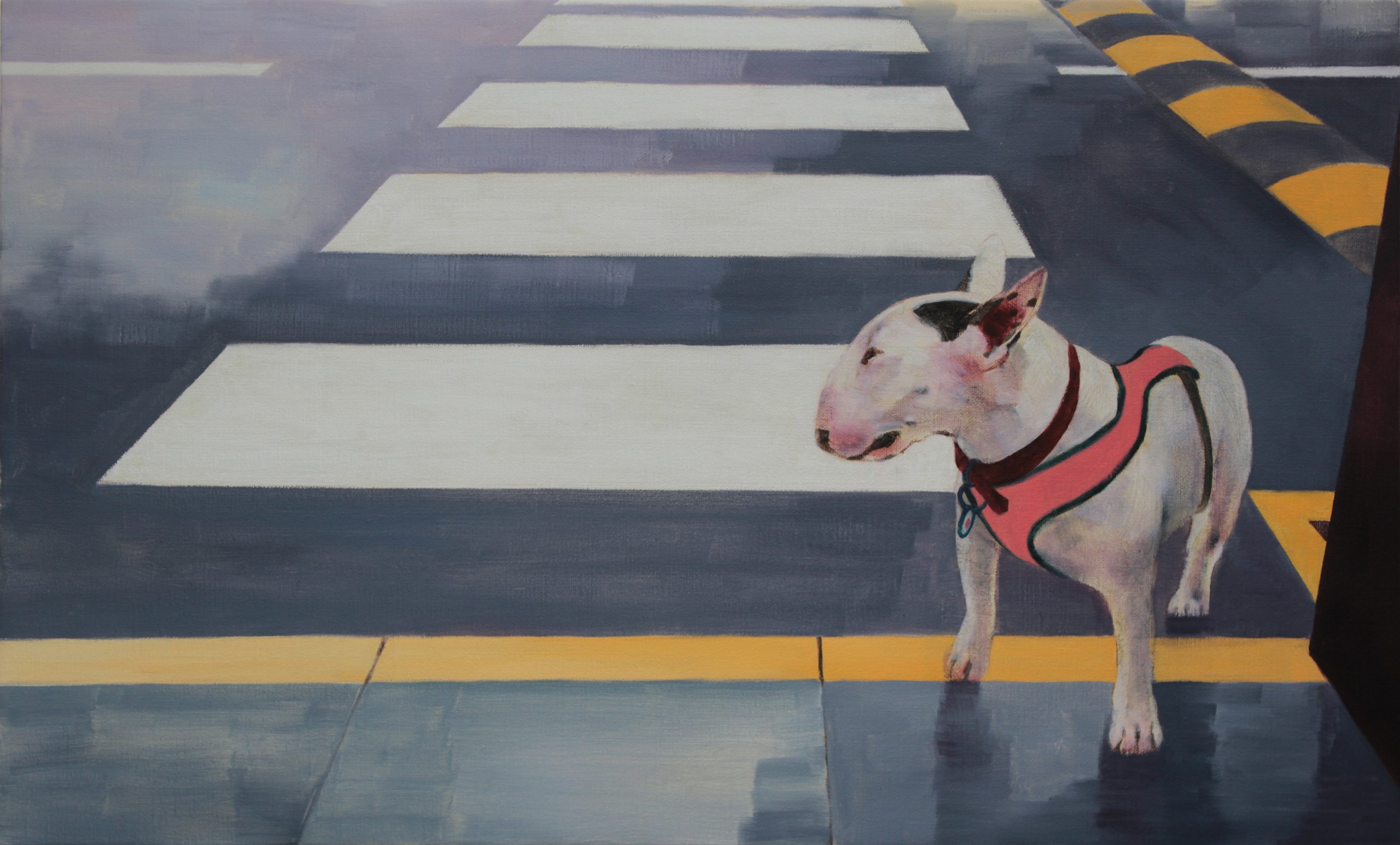 """The Return Of The Southpaw 30x50"""" Oil on Board"""